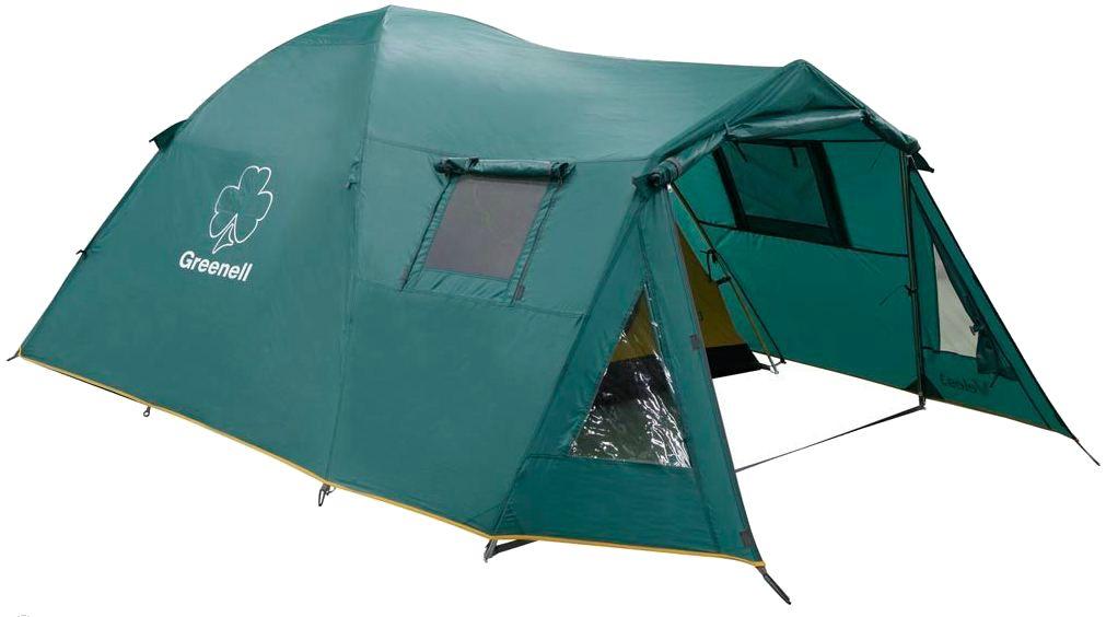 GREENELL ВЕЛЕС 4 V2 большая кемпинговая палатка