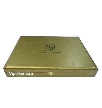 Подарочная коробка для арочной иконы размером 12*16см.