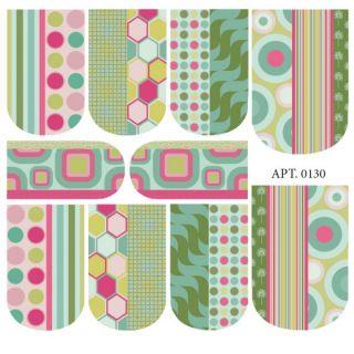 Слайдер-дизайн для ногтей № 0130