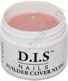 D.I.S. Гель Builder Cover Nude 30гр (Моделирующий Камуфляж Телесный)
