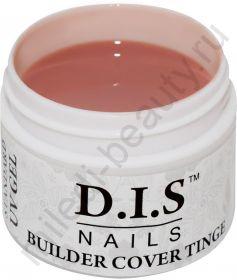 D.I.S. Гель Builder Cover Tinge 30гр (Моделирующий Камуфляж Бежево-розовый)