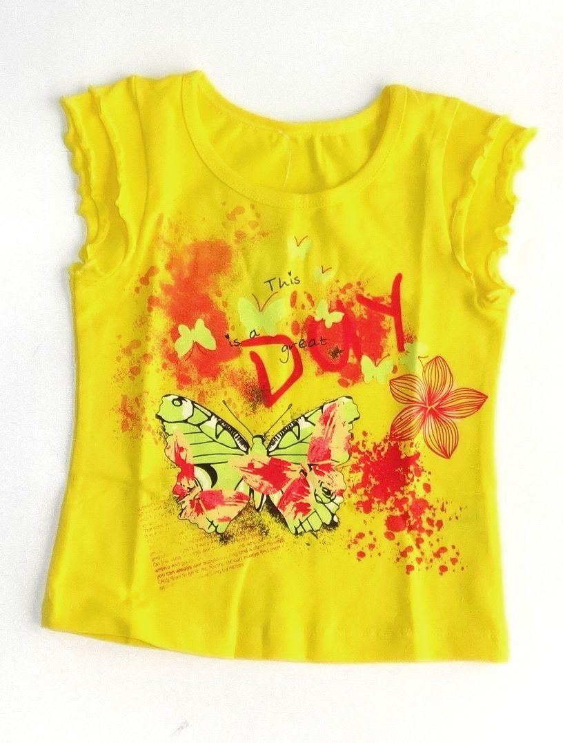 Блуза для девочки Лето