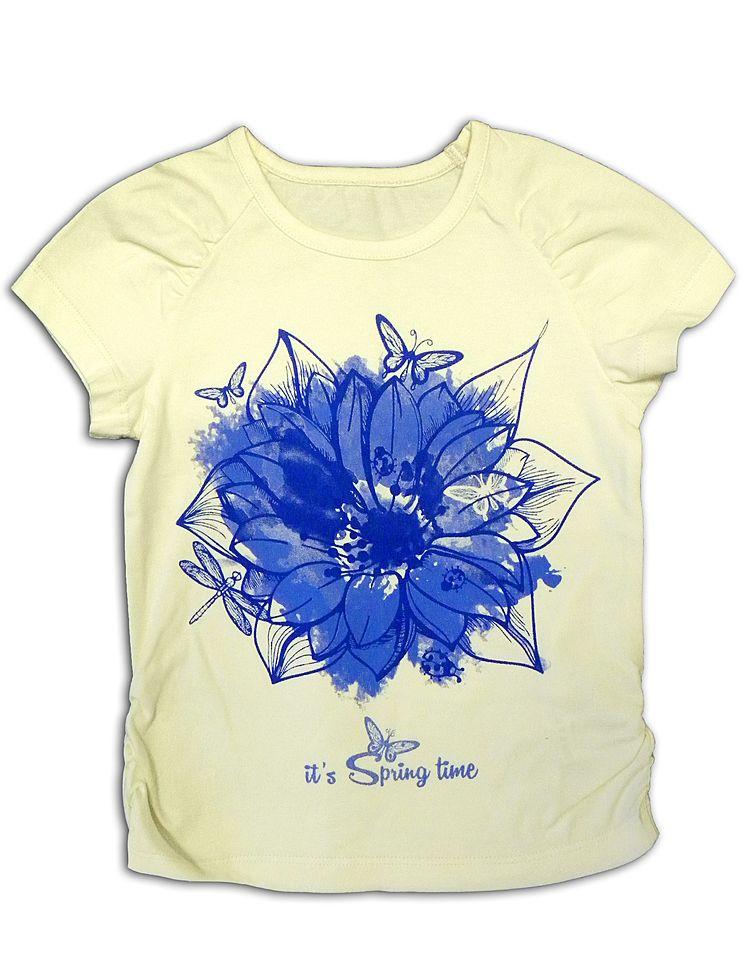Блуза для девочки Василек