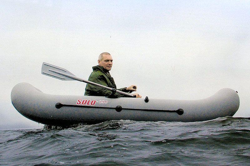 Гребная лодка ПВХ Соло-290