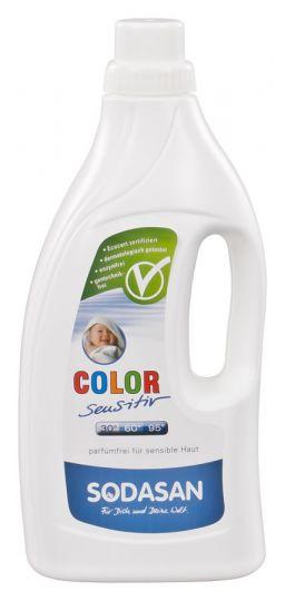 SODASAN Средство жидкое для стирки детских изделий из цветных тканей 1,5 л