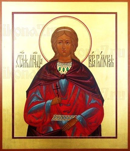Вера Римская (рукописная икона)