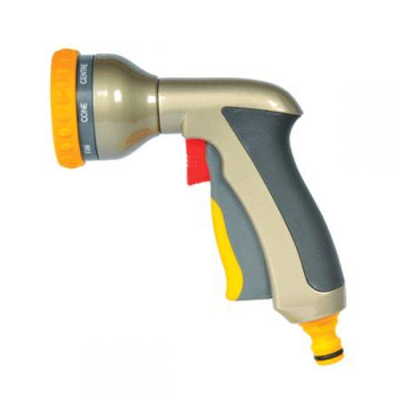 Пистолет-распылитель для полива HoZelock 2691 Multi Plus 8 режимов металлический