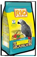 RIO Корм для крупных попугаев Основной рацион (1 кг)