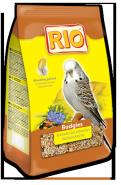 RIO Корм для волнистых попугайчиков Рацион в период линьки (1 кг)