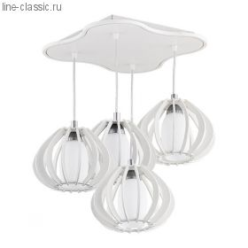 Люстра TK Lighting 323 Mela 4 white