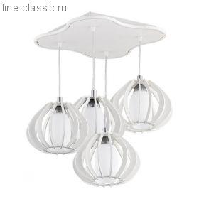 Люстра TK Lighting 323 Mela 4 white