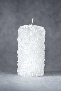 Свеча «Свадебная средняя №1» (белый)