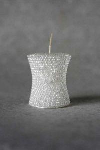 Свеча «Свадебная малая №1» (белый)