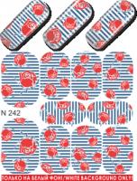 Слайдер-дизайн  N242  (водные наклейки)