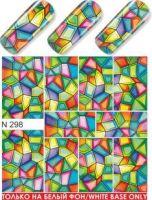 Слайдер-дизайн  N298 (водные наклейки)