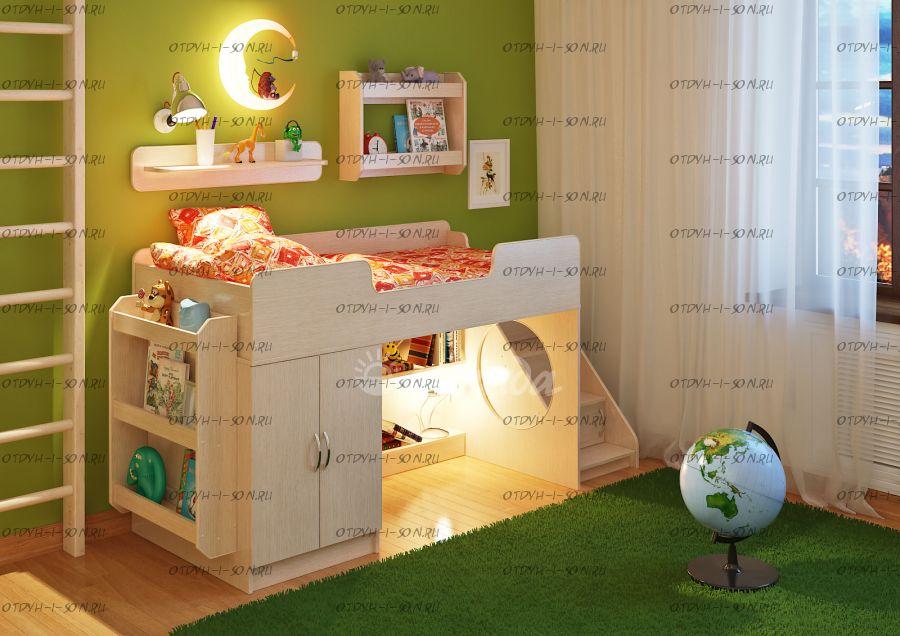 Детская комната Легенда-2.12 с полками