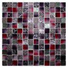 Kroсus. Мозаика серия GLASSTONE,  размер, мм: 295*295*8 (ORRO Mosaic)