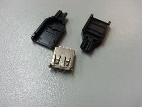 USB 2.0 тип A мама 4 pin