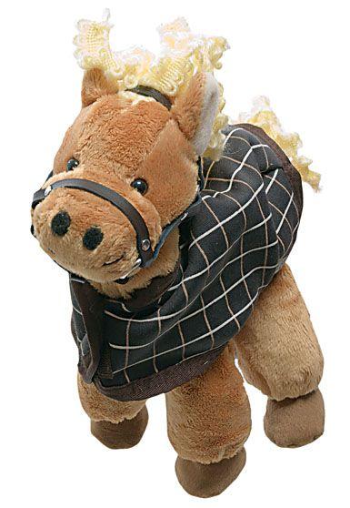 """Мягкая игрушка """"Конь в пальто"""""""