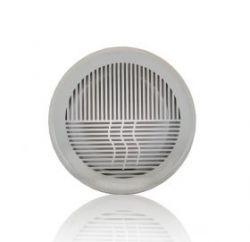 Решетка вентиляционная круглая, разъемная D164 с фланцем D125