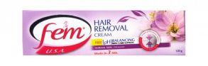 Крем для депиляции FEM Hair для нормальной кожи 120 г.