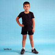 шорты для мальчика черного цвета
