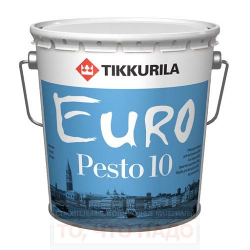 Эмаль интерьерная Euro Pesto 10
