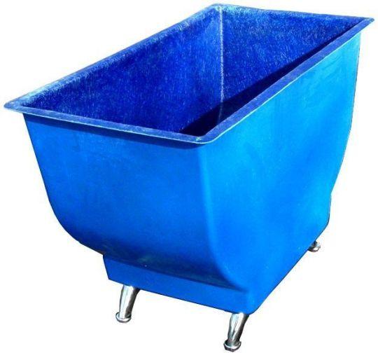 Ванна для проверки колес вертикальная