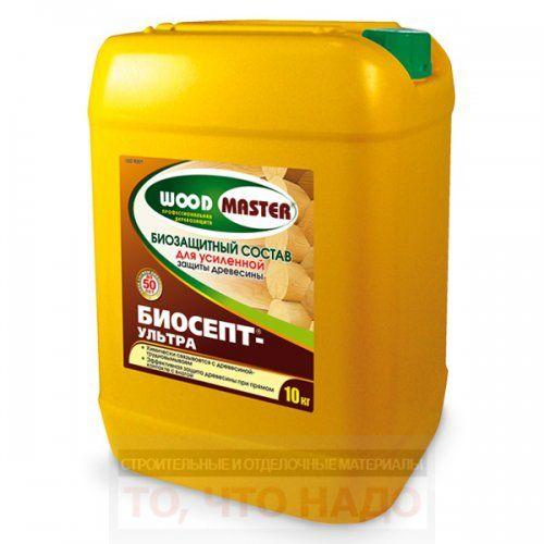 Пропитка для дерева, антисептик Биосепт - Ультра