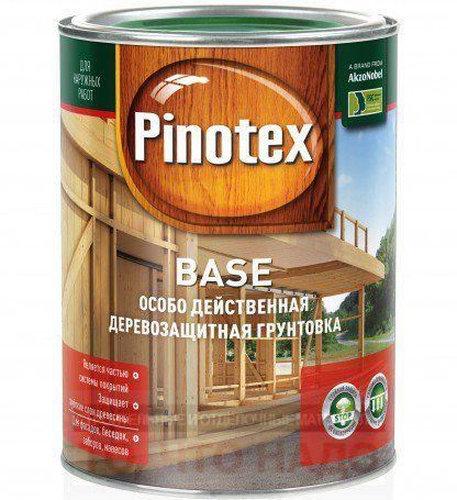 Грунтовка-антисептик Pinotex Base Пинотекс База