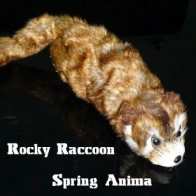 Енот Rocky Raccoon Spring Anima