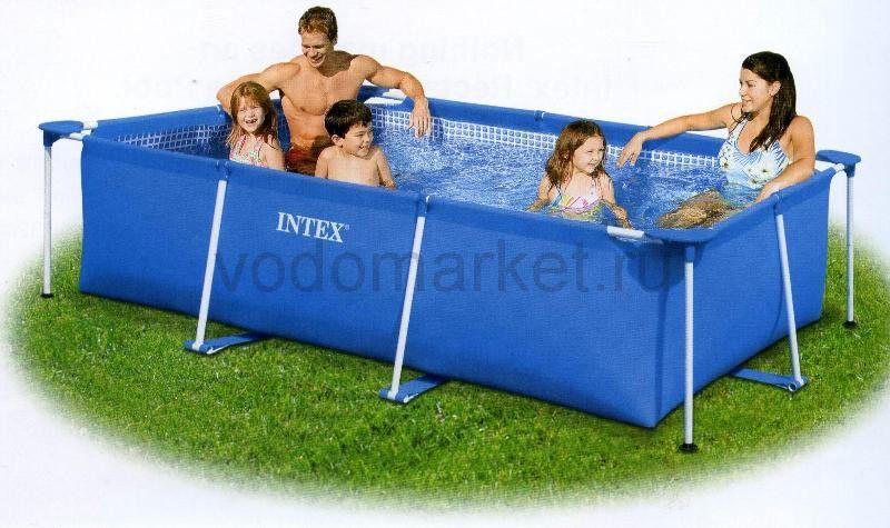 260х160х65см (28271) Каркасный бассейн INTEX