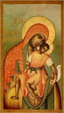 Икона Киккская (Милостивая) Божия Матерь
