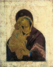 Икона Умиление Донская Божия Матерь (16 век, Ушаков)