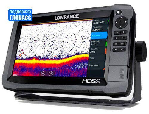 Эхолот-навигатор Lowrance HDS-9 Gen3