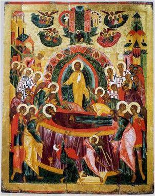 Икона Успение Пресвятой Богородицы (16 век)