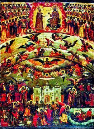 Всех скорбящих радость (копия иконы 18 века)
