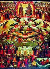 Икона Всех скорбящих радость (Кострома 18 век)