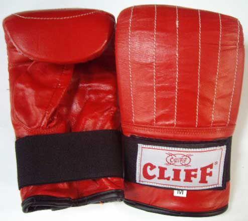 Перчатки  снарядные CLIFF,  PVС,  красные