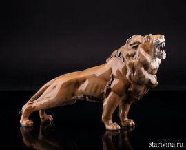 Рычащий лев, Hutschenreuther, Германия.
