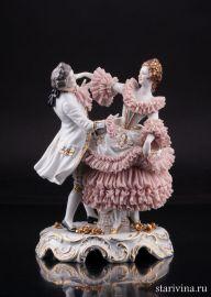 Танцующая пара, Muller & Co, Volkstedt, Германия, пер. пол. 20 в