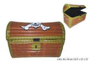 Пиратский сундук надувной