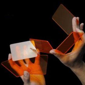 Кристалл покер  (6 шт) (карточный тренажер) цвет: оранжевый