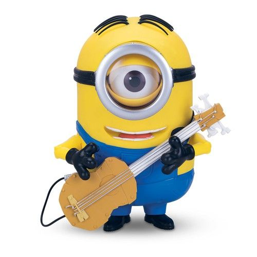 Игрушка Миньон Стюарт с гитарой