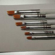 3694-Набор кистей из синтетического волоса, ретушные  6 шт. (№ 1, 2, 3, 4, 5, 6)