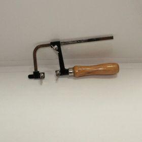 Лобзик раздвижной, 50-160 мм, глубина 65 мм, деревянная ручка