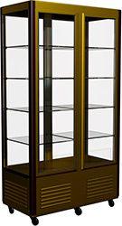 Вертикальная кондитерская витрина Carboma R800C Люкс