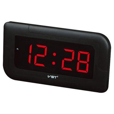 VST739-1 часы 220В крас.цифры