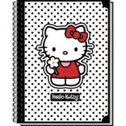 """Тетрадь общая на гребне """"Hello Kitty Classic White"""""""
