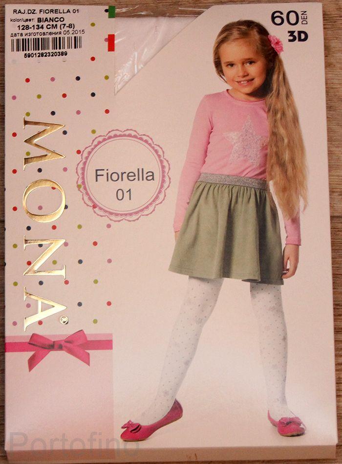 Fiorella 01 детские колготки Mona 60 DEN